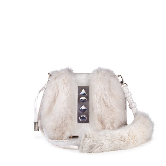 FV03B-FruitenVeg-faux-fur-white-high-end-handbag